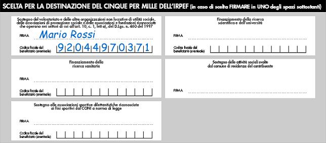 5 per 1000 Fondazione Biblioteca Bozzano de Boni Onlus